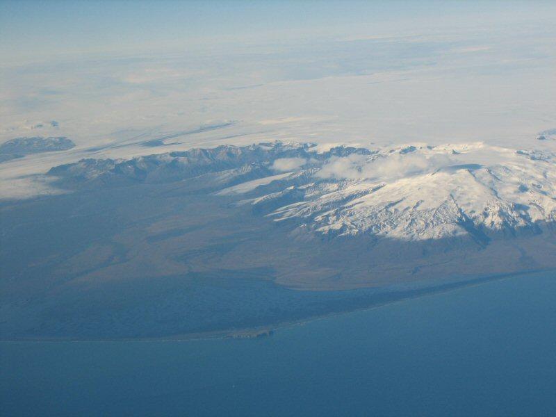 Anflug Island - Vatnajökull