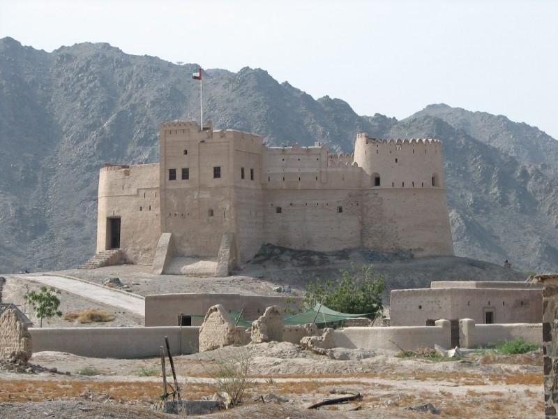Festung irgendwo in den UAE
