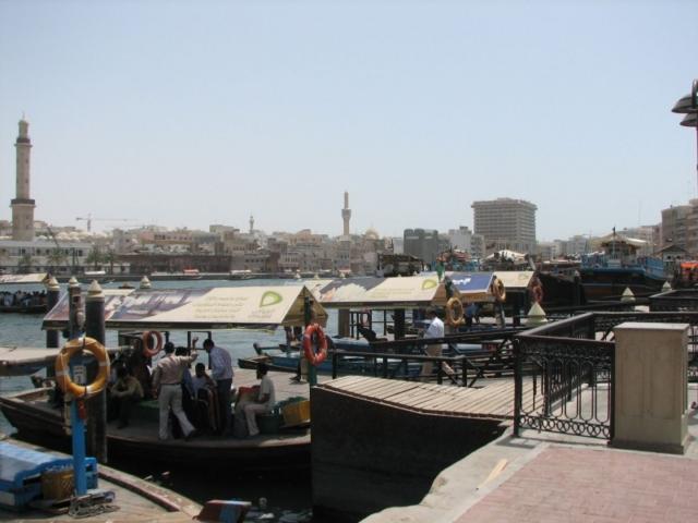 Im Hafen von Dubai